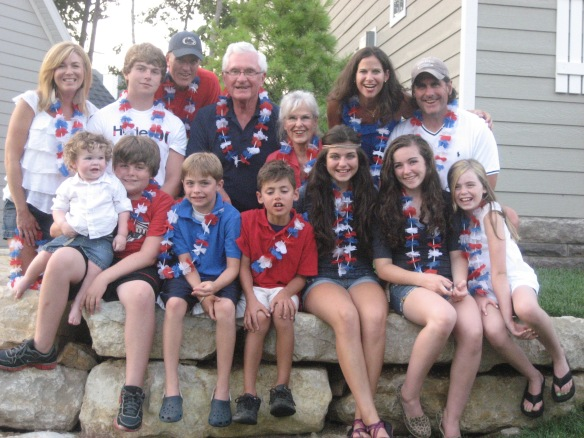 The family - two years ago on the 4th!