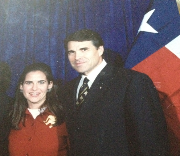 With longest serving Texas Governor Rick Perry