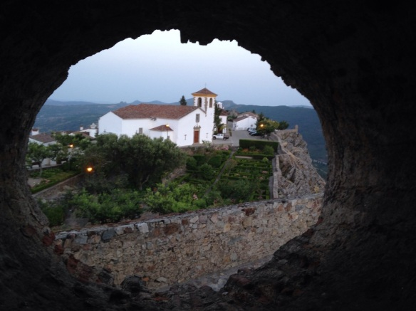 A view from the enchanting hilltop fortress in Marvao, Portugal.