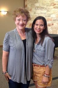 With Barbara Duguid
